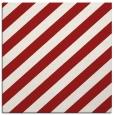 rug #521313 | square red stripes rug