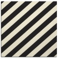 rug #521373 | square black stripes rug