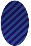 rug #521521 | oval blue-violet popular rug