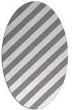 rug #521602 | oval stripes rug