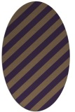 rug #521649   oval mid-brown popular rug