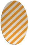 rug #521765 | oval light-orange popular rug