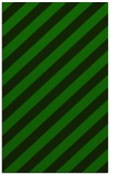 rug #521837 |  green stripes rug