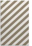 rug #521909 |  mid-brown stripes rug