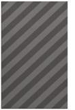 rug #521917 |  brown stripes rug