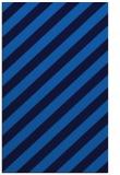 rug #521937    blue stripes rug