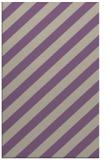 rug #521949 |  purple stripes rug
