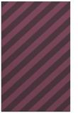 rug #521993 |  purple stripes rug