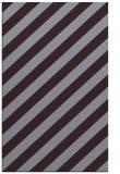 rug #522005 |  purple stripes rug
