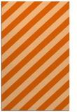 rug #522029    red-orange stripes rug