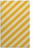 rug #522057 |  yellow stripes rug