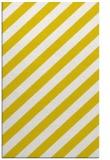 rug #522069    yellow stripes rug