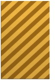 rug #522073 |  yellow stripes rug