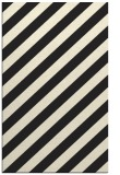 rug #522077 |  black stripes rug
