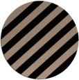 rug #522133 | round black stripes rug