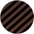 rug #522137 | round brown rug