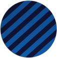 rug #522289 | round blue stripes rug
