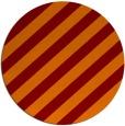 rug #522309 | round orange stripes rug