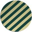 rug #522325 | round yellow popular rug