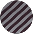 rug #522357 | round purple stripes rug