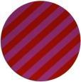 rug #522373 | round red stripes rug