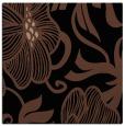 rug #524601   square black natural rug