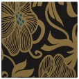 rug #524605 | square mid-brown rug