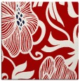 rug #524825 | square red rug