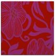 rug #524837 | square red natural rug