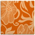 rug #524845   square red-orange natural rug