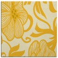 rug #524873 | square yellow natural rug