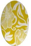 rug #525214 | oval natural rug