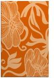 rug #525549 |  red-orange natural rug