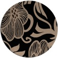 rug #525653 | round beige natural rug