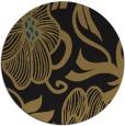 rug #525661 | round brown rug