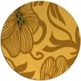 rug #525945 | round light-orange natural rug