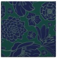 rug #528137 | square blue natural rug