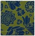 rug #528141 | square blue natural rug