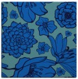 rug #528273 | square blue rug
