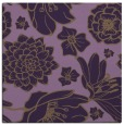 rug #528337 | square purple natural rug