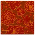 rug #528349 | square orange natural rug