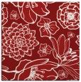 rug #528353 | square red natural rug