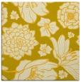 rug #528393 | square yellow natural rug