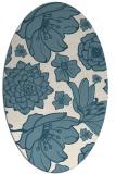 rug #528484 | oval natural rug