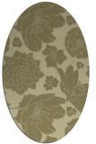 rug #528781 | oval light-green rug
