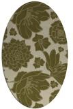 rug #528789 | oval light-green rug