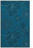 rug #528857 |  blue-green natural rug