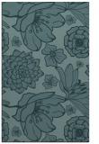 rug #528881 |  blue-green natural rug