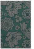 rug #528937 |  green natural rug