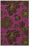 rug #529037 |  purple natural rug